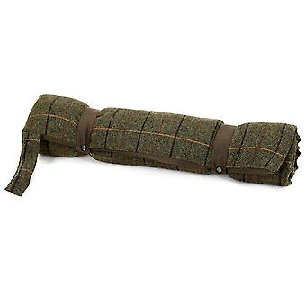 Tweedmill Tweed Travel Dog Bed With Waterproof Base - 12/Chocolate