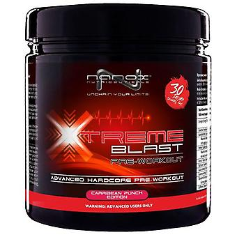 Nanox Xtreme Blast 300 Gr - Caribbean Punch (Sport , Carbohydrates)
