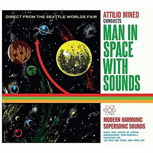 Attilio Mineo - Man in Space with Sounds [CD] USA import