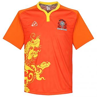 2015-2016 Bhutan Home Football Shirt