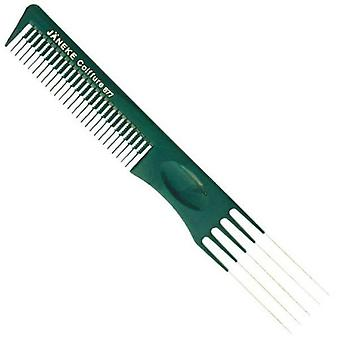 Janeke 877 Prong Metal comb Ahuecador (Hair care , Combs and brushes , Accessories)