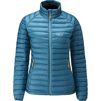 Rab Womens Microlight Jacket Blazon/Seaglass (Size UK 14)