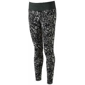 Ron Hill Women's Momentum Tight - Mosaic Print Grey