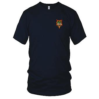 MACV-SOG Special Forces Group Quang Ngai - Vietnam War Embroidered Patch - Ladies T Shirt