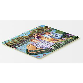 Carolines Treasures  7507CMT Angels with  Great Dane Kitchen or Bath Mat 20x30