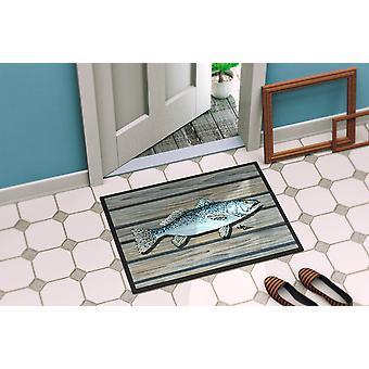 Fish Speckled Trout Indoor or Outdoor Mat 18x27 8494 Doormat