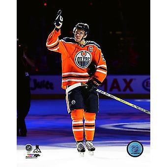 Connor McDavid 2017-18 Action Photo Print
