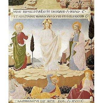 Verklärung Poster Print von Fra Angelico