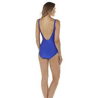 Seaspray 33-2150 Women's Just Colour Sapphire Blue Shaping Swimsuit