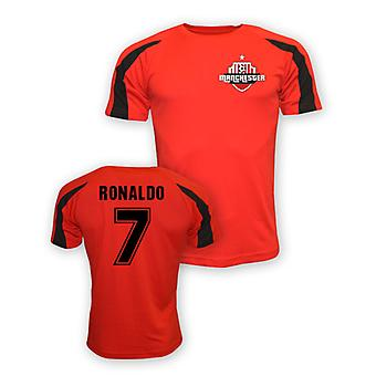 Cristiano Ronaldo Man Utd Sports formation maillot (rouge) - Kids
