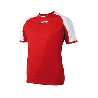 Макрон Янтарный футболку (красный)
