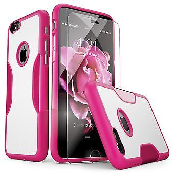 SaharaCase® iPhone 6s/6 caso de rosa del desierto, el clásico paquete de Kit de protección con ZeroDamage® vidrio templado