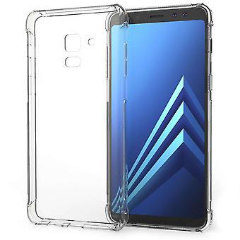 Samsung Galaxy A8 (2018) alfa del Gel TPU caso - claro