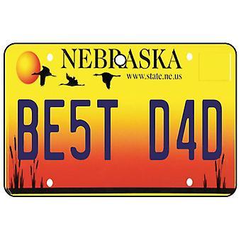 Nebraska - beste papa kenteken auto luchtverfrisser