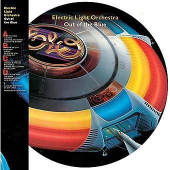 Elo (Electric Light Orchestra) - ud af det blå [Vinyl] USA importerer