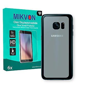 Samsung Galaxy S7 reverse Screen Protector - Mikvon Clear (Retail Package with accessories) (intentionally smaller than the display due to its curved surface)