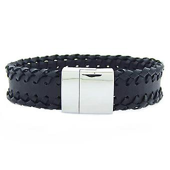 Christian Leather svart garn