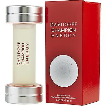 Davidoff Champion Energy By Davidoff Edt Spray 3 Oz