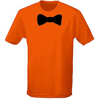 Bow Tie Corporate Fancy Dress Mens T-Shirt 10 Colours (S-3XL) by swagwear