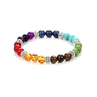 Bracelet Stretch stone natural Multicolor