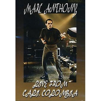 Marc Anthony - Live fra Cali Colombia [DVD] USA import