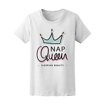 Sleeping Beauty Nap Queen Tee Women's -Image by Shutterstock