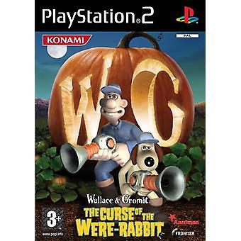 Wallace Gromit The Curse of de waren konijn (PS2)