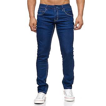 New Men's Stretch Jeans Designer Joggdenim Jogg denim clubwear Chino Slim fit ALLinONE