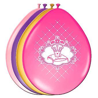 Ballons Luftballon Balloon Prinzessin Kinderparty Geburtstag 6 Stück