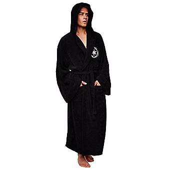 Star Wars Galactic Empire Long Sleeve Bath robe - black