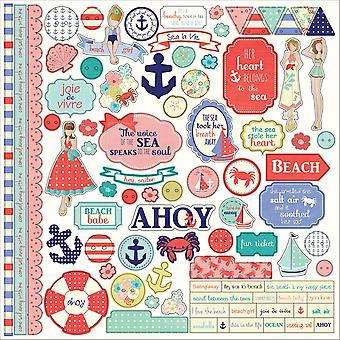 Nautical Bliss Stickers 12