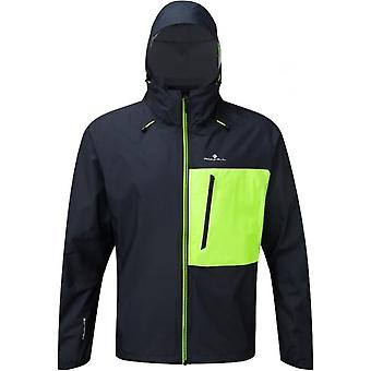 Infini Torrent Mens Running Jacket Black