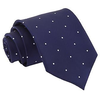 Marineblå Pin Dot klassisk slipset