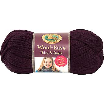 Wool-Ease Thick & Quick Bonus Bundle Yarn-Eggplant