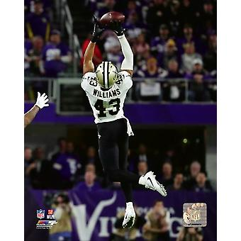 Marcus Williams 2017 Action Photo Print