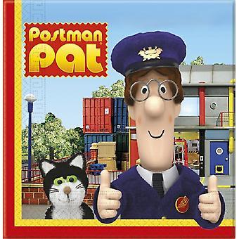 Post Pat Party Servietten Postbote Briefträger  Pat ca 33 x 33 cmKindergeburtstag 20 Stück