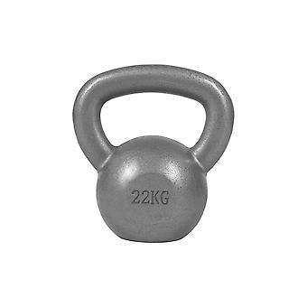 Kettlebell Gusseisen Silber 22 kg