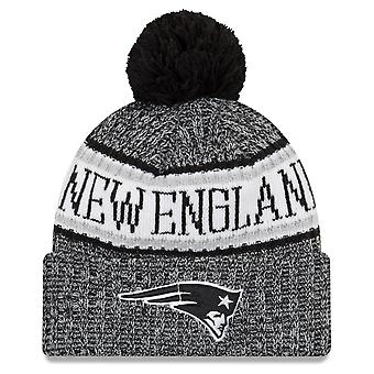 New era NFL sideline 2018 Bobble Hat New England Patriots