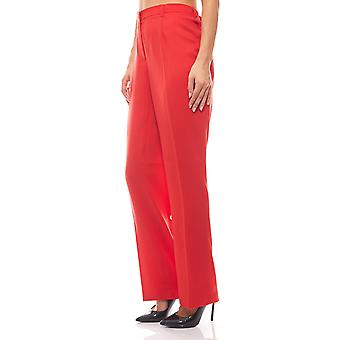Guido Maria Kretschmer Palazzo pants women's pants Red