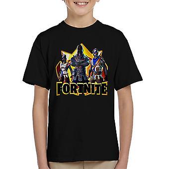 Fortnite Knight Armour Skins Kid's T-Shirt
