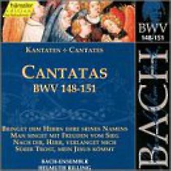 J.S. Bach - Bach: Cantatas, Bwv 148-151 [CD] USA import