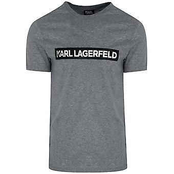 Lagerfeld Lagerfeld Grey Logo T-Shirt