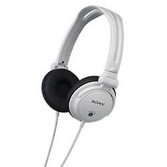 Sony MDRV150W Monitoring Headphone with Reversible Ear Cups - White