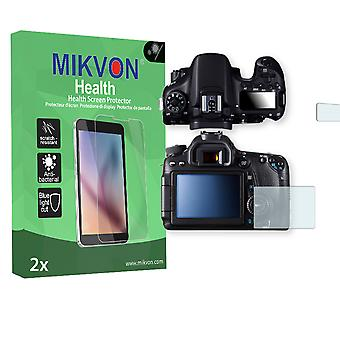 Canon EOS 70D Screen Protector - Mikvon Health (Retail Package with accessories)