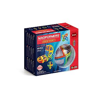Magformers Curve 40 PCS Set Building and Construction Toy