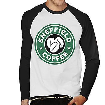 Sheffield Kaffee Starbucks Herren Baseball T-Shirt Langarm