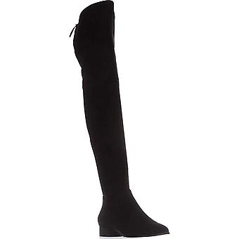 DKNY Tyra Over The Knee Boots, Black