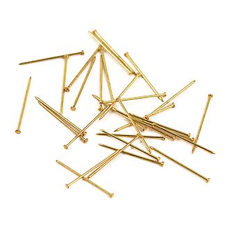 18mm Brass Pins for Sequins - 50g - The Right Size for Most Sequins