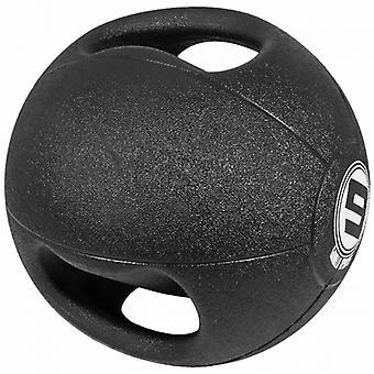 Médecine ball double poignée de 9kg