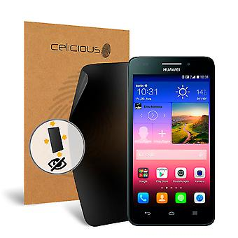 Celicious Privacy Plus 4-Way Anti-Spy Filter Screen Protector Film Compatible with Huawei Ascend Y550